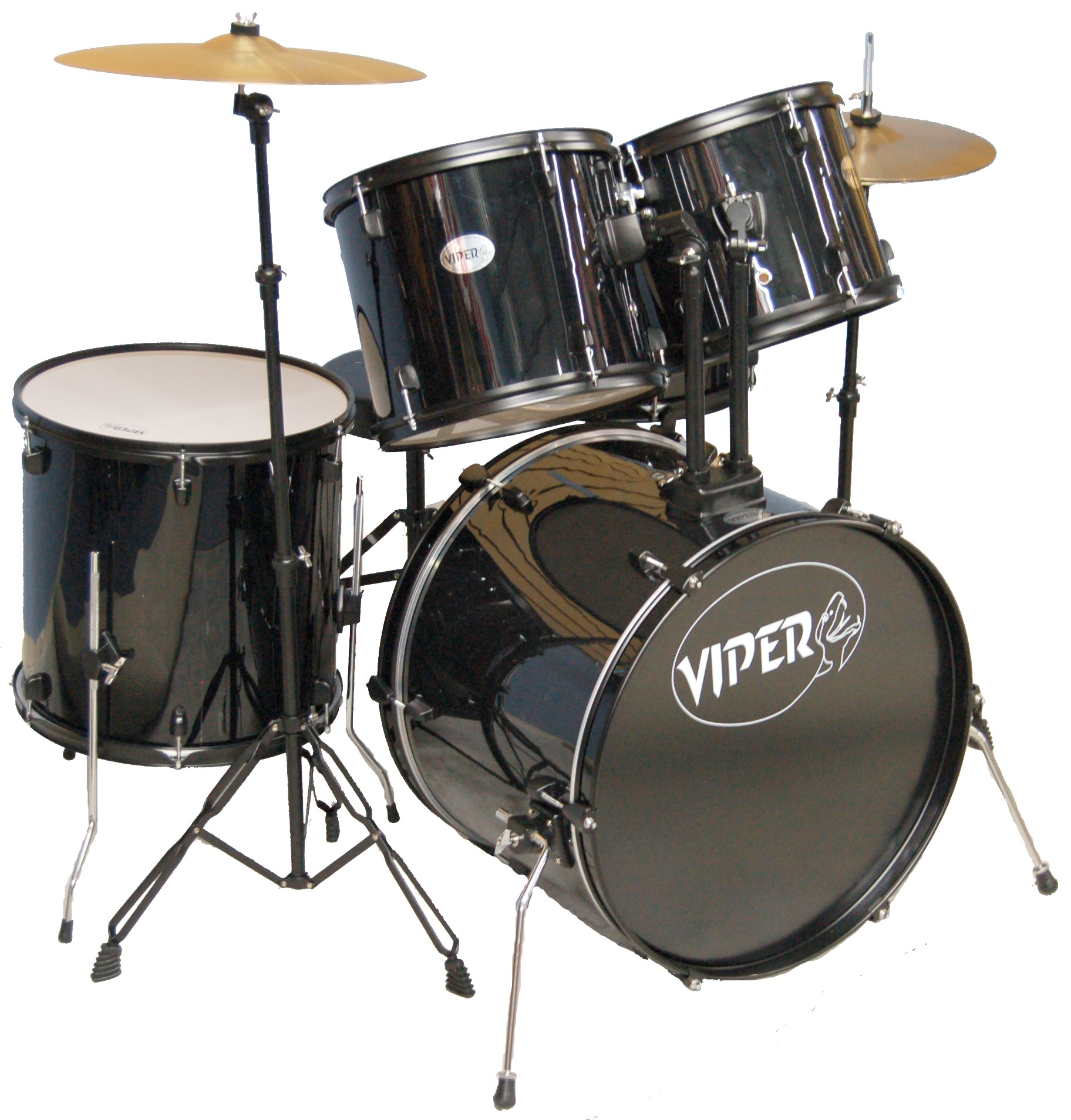 VIPER STUDENT DRUM SETS BLACK