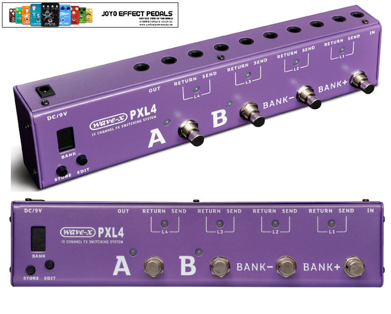 Joyo PXL-4 Switcher PURPLE