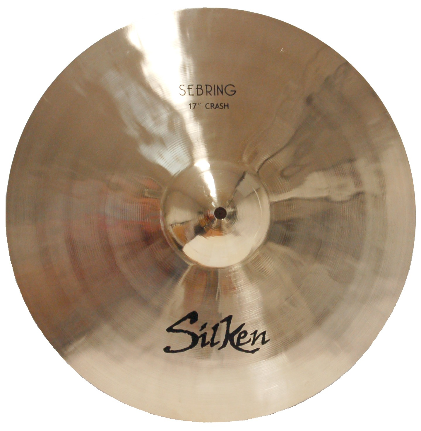 "SILKEN B20 17"" CRASH SEBRING SERIES CYMBAL"