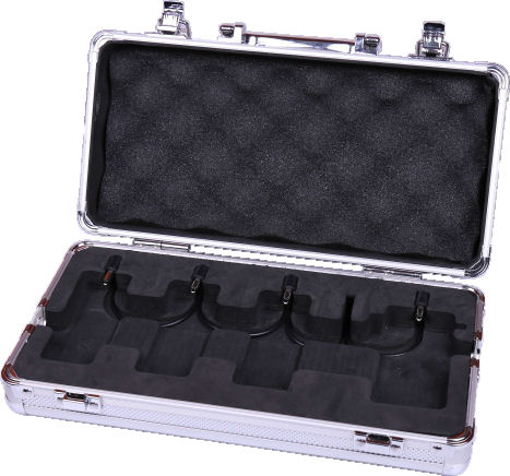 MOOER FC-M4M NEW Firefly Pedal board Flight Case