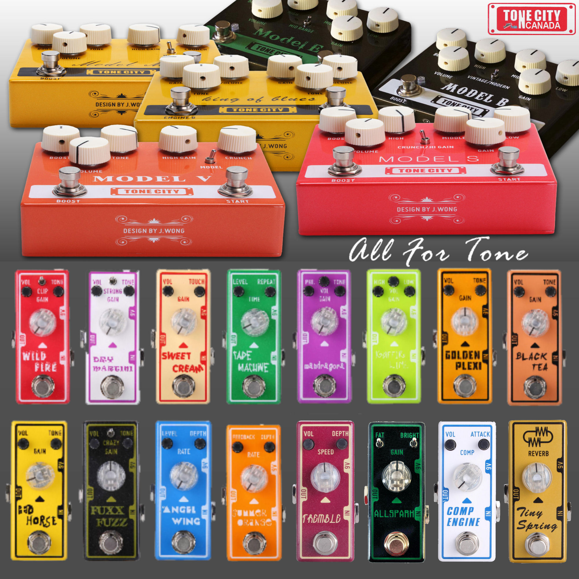 Tone City Comp Engine Compressor Pedal
