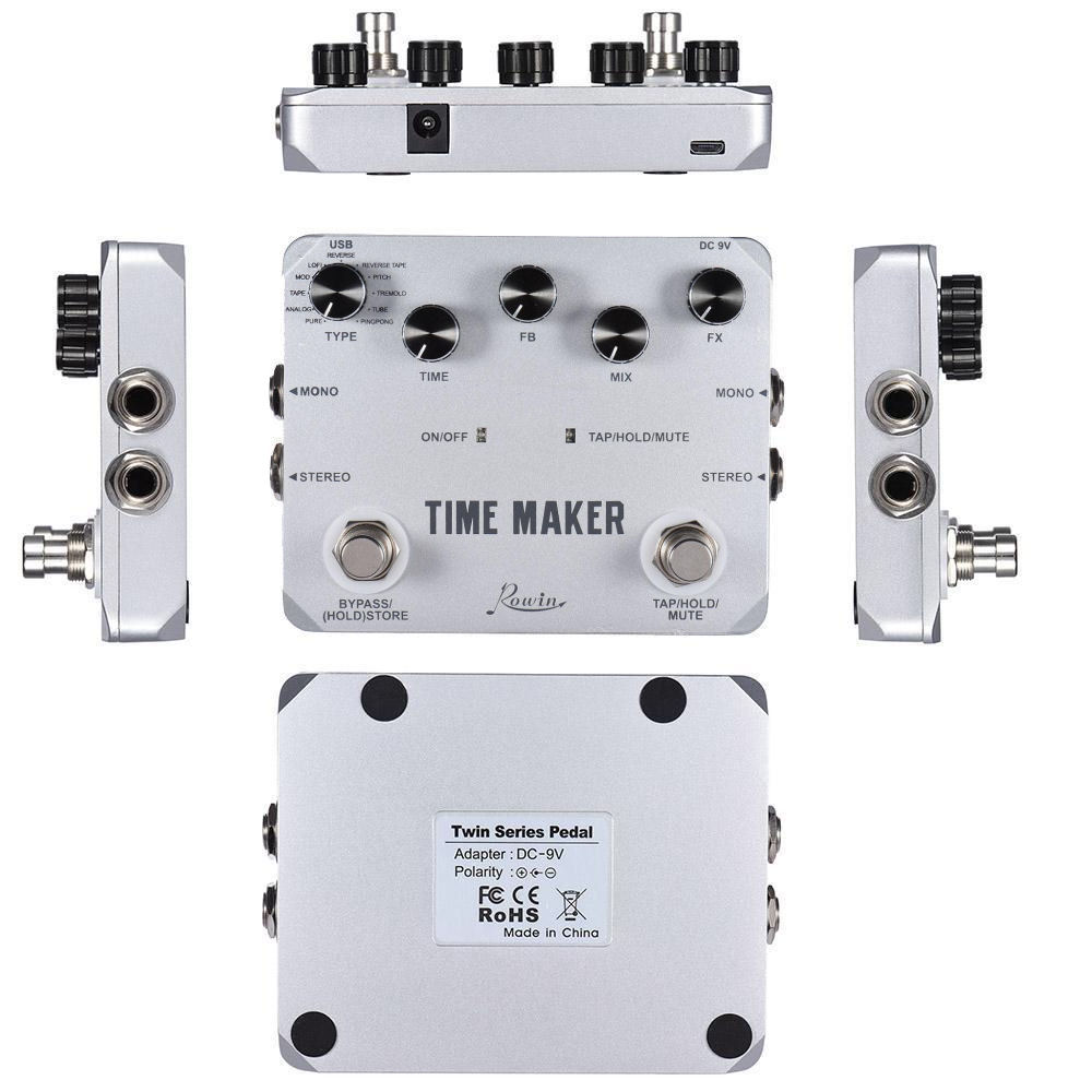 ROWIN LTD-02 Time Maker Delay 11 types of Delay