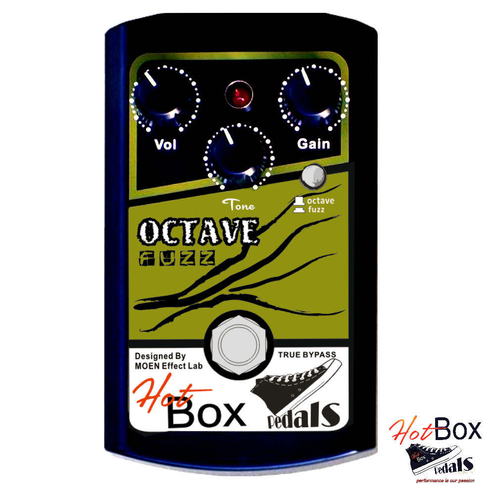 Hot Box Pedals Canada HB-OF OCTAVE and FUZZ