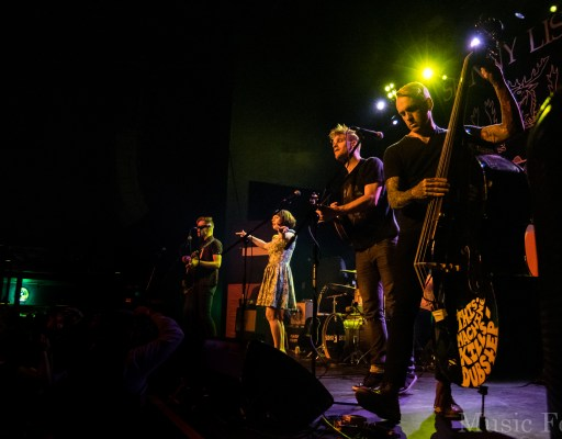 Skinny Lister, 10/27/2015, Emo's, Austin, Photos – Write-up