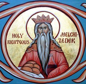 Melchisedek modern icon
