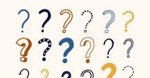Lots of question marks