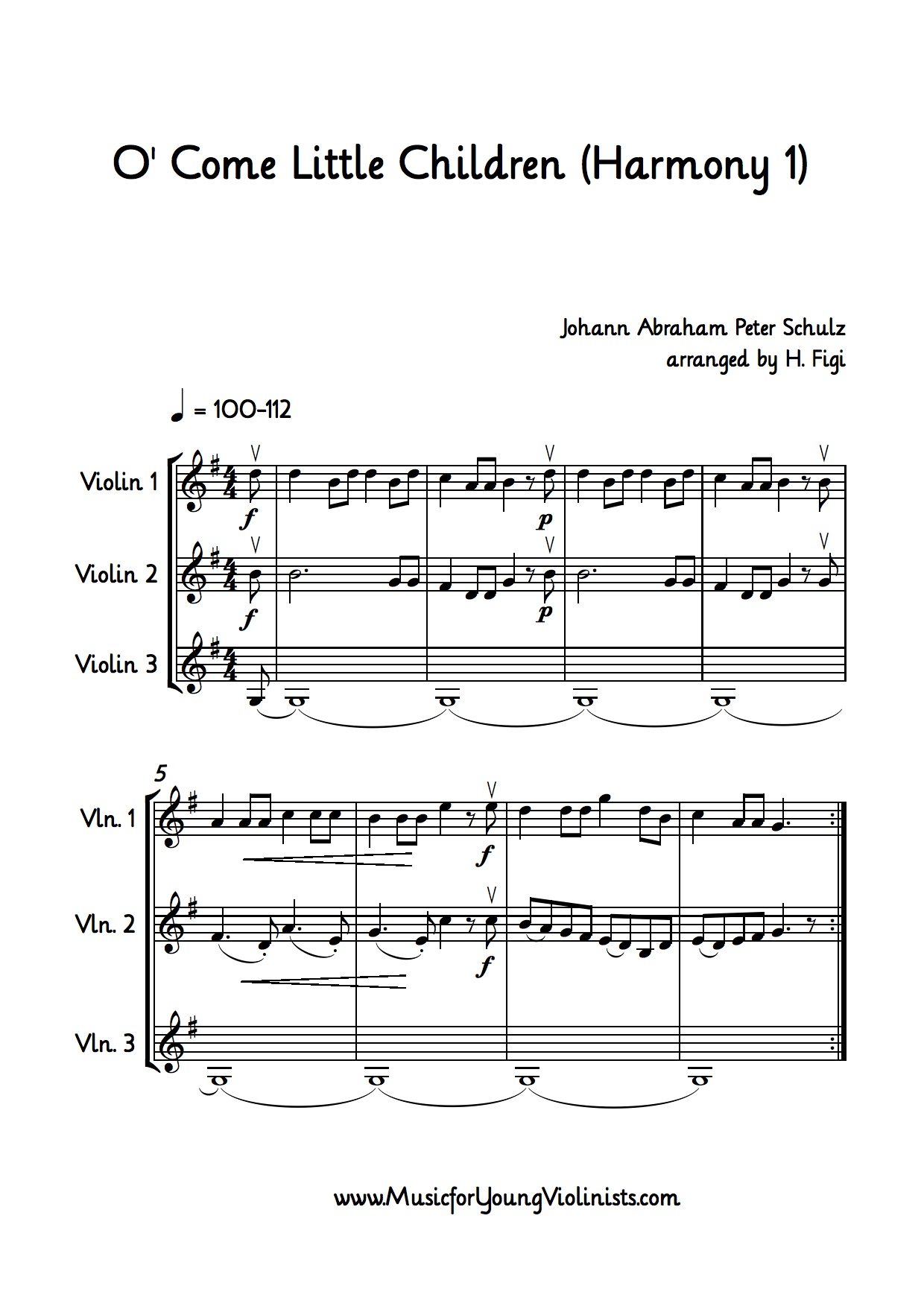 Christmas Songs Violin