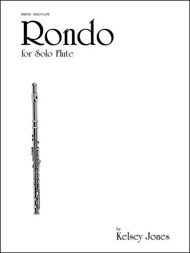 Rondo for Solo Flute (W185)