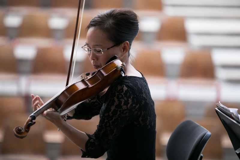 Susanne Park 8/31/17 Pittsburgh Symphony Orchestra 2017 European Tour Rehearsal at Graffenegg ©Todd Rosenberg 2017
