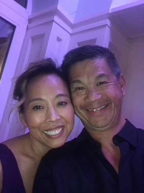 Susanne Park with Chris Wu