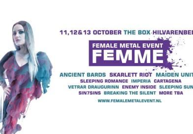 Female Metal Event 2019 (FemME 2019) : l'affiche définitive