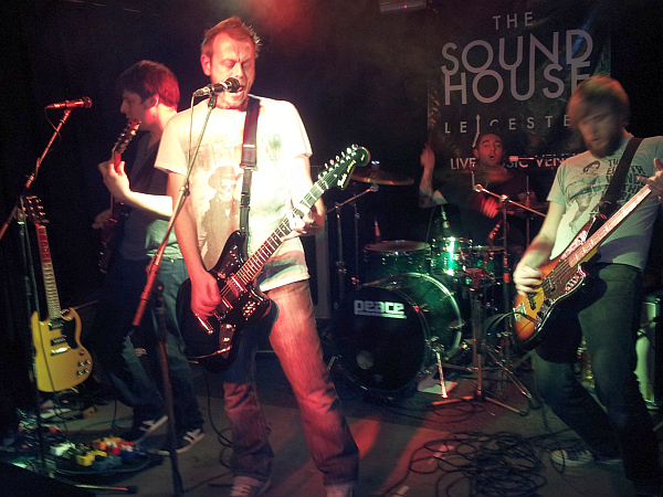 Super73 on stage at The Soundhouse
