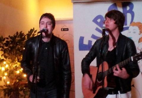 Chris Sherratt and Alex Van Roose