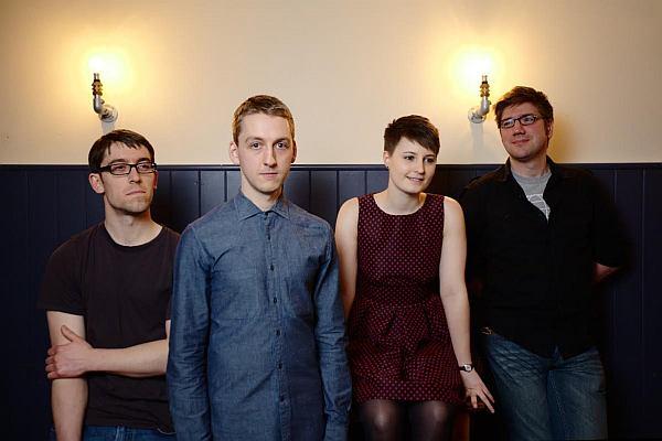 Elizabeth Cornish and her band