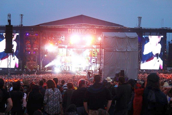 The main stage at Download 2014. Photo by Kevin Gaughan.