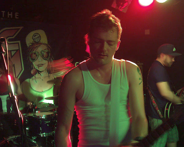 Nick Horne, Sonic Boom Six, Soundhouse 2011
