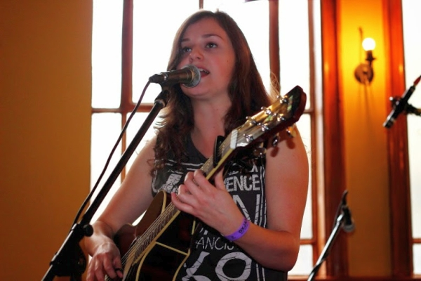 Grace Jenkinson at The Ale Wagon Oxjam 2014