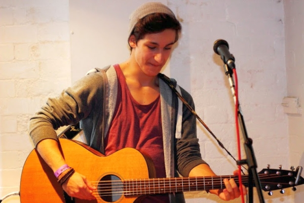 Matt Zara at Manhattan Oxjam 2014