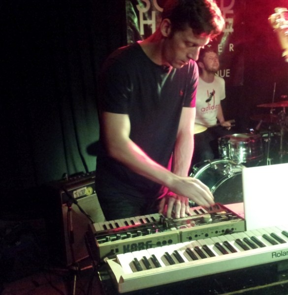 Synth player of The Tea Street Band