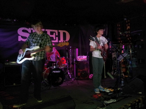 Flight 15 at The Shed December 2014