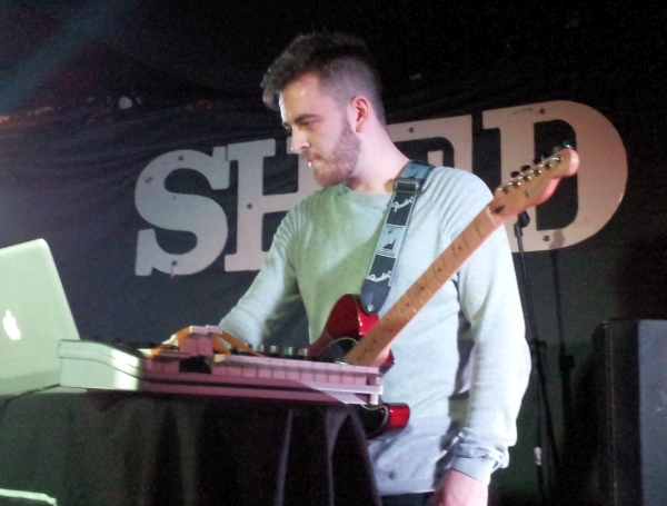 Ben Gorman with Tom Bem at The Shed in 2014.