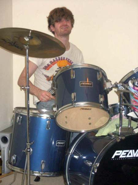 Drummer Mark Abbott