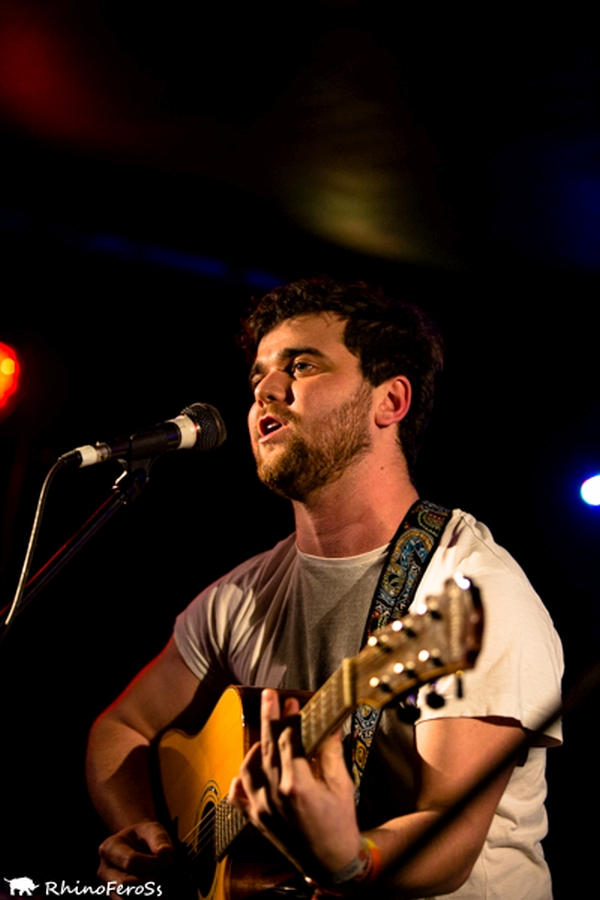 Mickey Vickers at The Musician in February 2015 Photo: RhinoFeroSs
