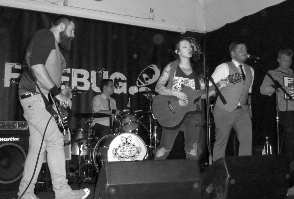 The Brandy Thieves at The Firebug Photo Keith Jobey