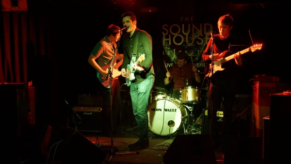 The Soundhouse 15th April Photo Trevor Cobbe