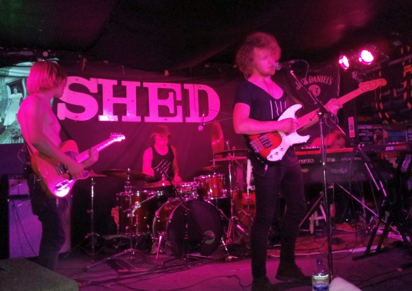 She and the Junkies, The Shed, 12th June