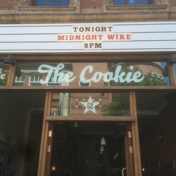 Sign above the Entrance of the Cookie Courtesy of The Cookie Facebook page