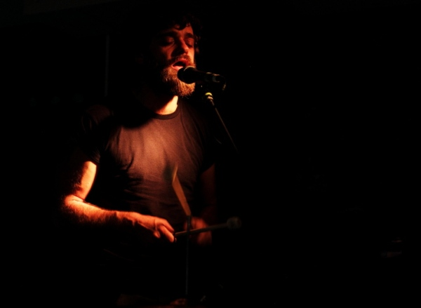 Jonny Gavin of Demons of Ruby Mae at The Cookie Photo by Kevin Gaughan