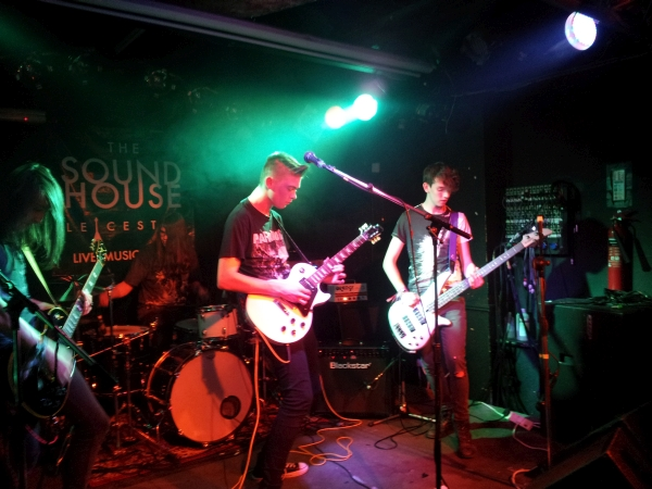 The World Can Wait at The Soundhouse, September 2015