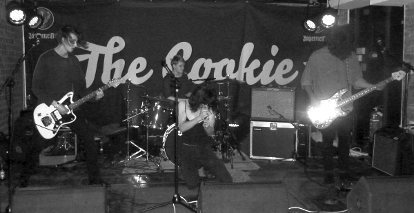 Ash Mannam at The Cookie. Photo: Keith Jobey.