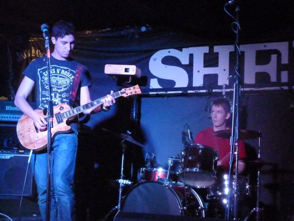 Nameless Snakes - Shed (upstairs) Photo: Keith Jobey