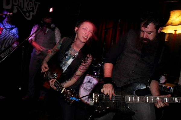 The Brandy Thieves at the Donkey. Photo: Kevin Gaughan.