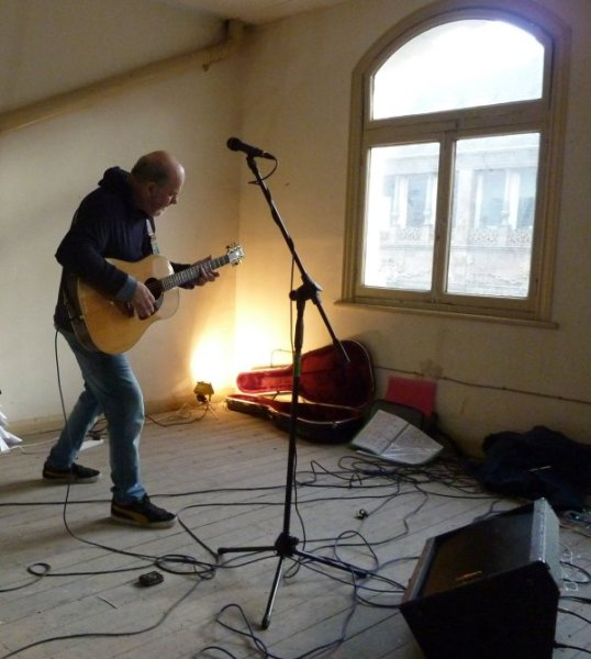 Kevin Hewick at the Queen Of Bradgate, Photo: Keith Jobey