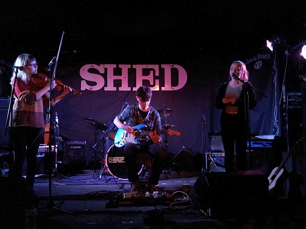 Coalscence at The Shed, 30th January