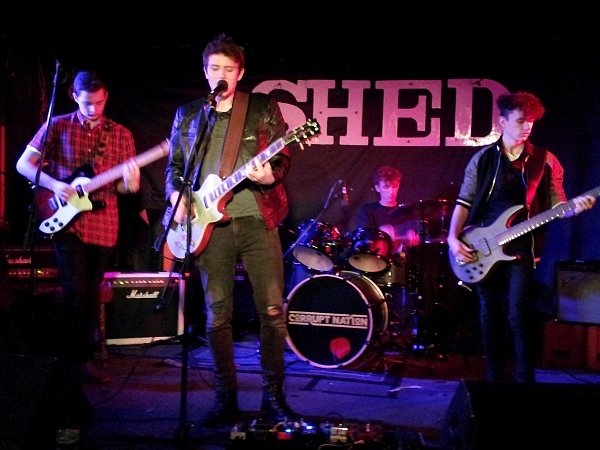 Corrupt Nation at The Shed, 30th January 2016