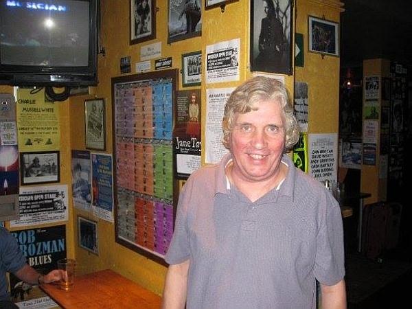 Ken Last at The Musician. Photo: Chris McMinn.