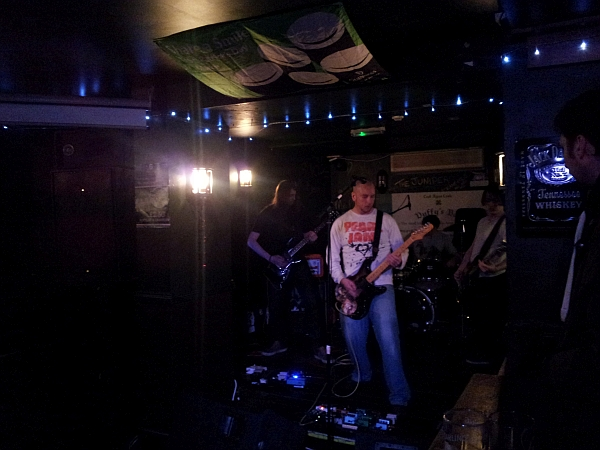 The Mire Deep at Duffys, March 6th 2016.