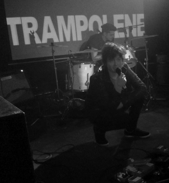 Jack Jones opening the Trampolene set at The Soundhouse, 2016