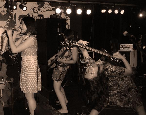 Otoboke Beaver at The Musician - 6th May. Photo: Keith Jobey