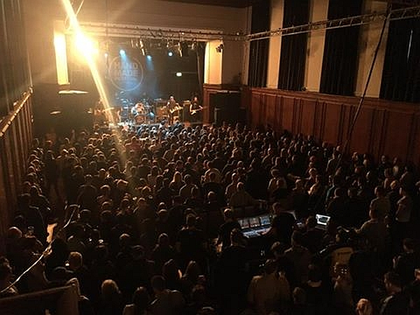 The audience in the O2/2 Queens Hall. Photo by John Helps used with permission.