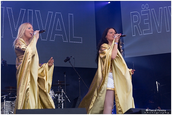 Abba Revival at Glastonbudget 2016. © Pascal Pereira Photography