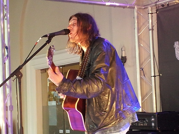 Rhett Barrow at the De Montfort Hall for Uprising 4th June