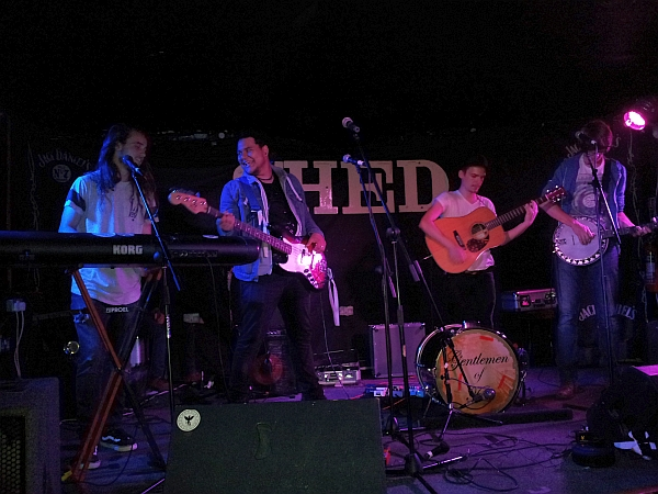 Gentlemen of Few at The Shed, July 2016.