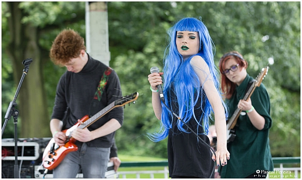 Before The Crash playing at the Western Park festival 2016. Photo: Pascal Pereira photography.