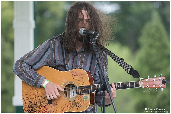 Homeless Shakespeare playing at the Western Park festival 2016. Photo: Pascal Pereira photography.