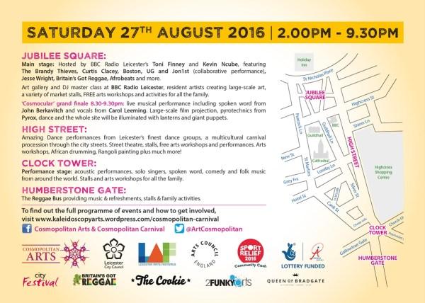 Saturday 27th August, Cosmopolitan Festival